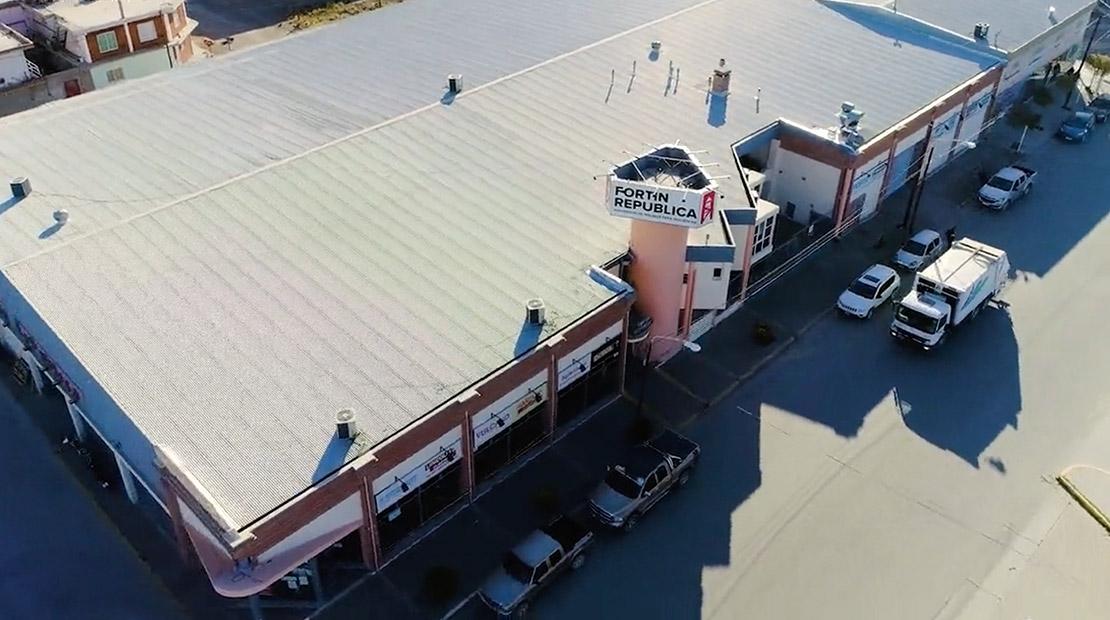Nueva nave industrial en Puerto Madryn
