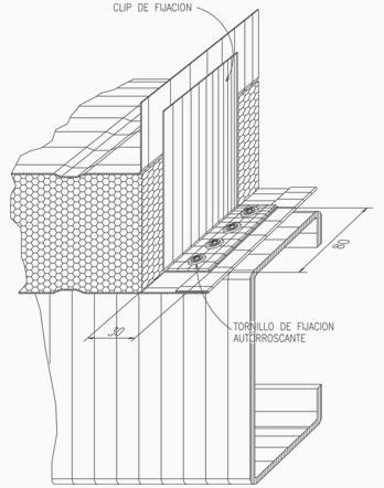 Roof Panel Agrafado (EPS)