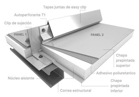 Roof Panel Easy Clip (EPS)